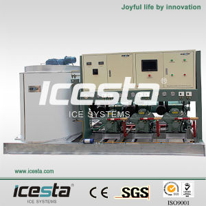 China Top Sale Brand Icesta Industrial Flake Ice Maker pictures & photos