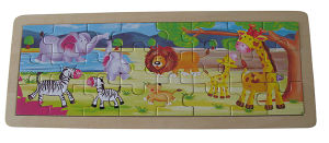 Wooden Educational Toy Jigsaw Puzzle pictures & photos