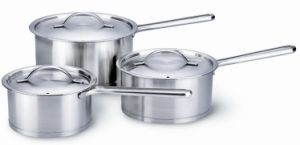 3PCS Stainless Steel Cookware Sets pictures & photos
