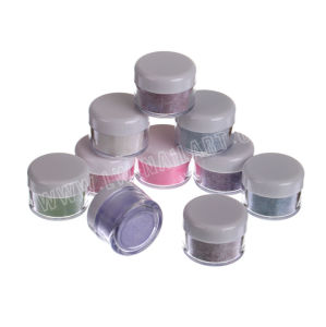 12 PCS Mix Color Glitter Acrylic Powder Builder Decoration Nail Art Acrylic Tips pictures & photos