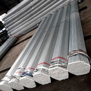 Hot-Dipped Galvanized Steel Pipe (BS1387-1985, GB/T3091-2001, ASTM A53-1996) pictures & photos
