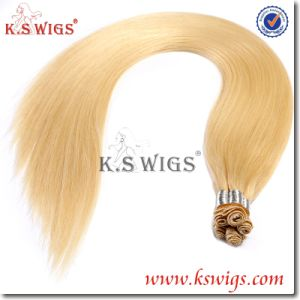 Hand Tied Human Hair Virgin Remy Hair Extension pictures & photos