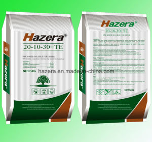 20-10-30 100% Solubility NPK Fertilizer with EDTA Trace Elements