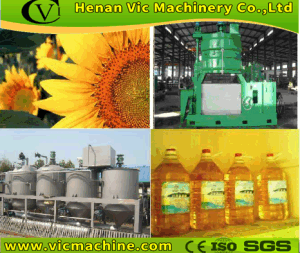 Sunflower Seeds Oil Extraction machines pictures & photos