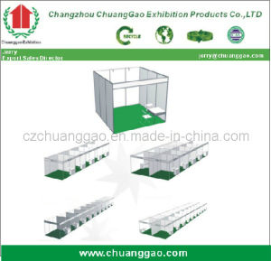 Exhibition Stand with Aluminum Profile Display Booth pictures & photos