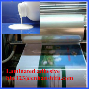 White Latex Laminating Adhesive pictures & photos
