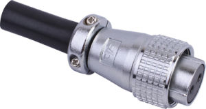 Circular Cable Power Waterproof Connector (P20-2A)
