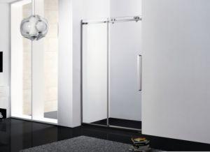 Shower Door Sliding\ Shower Room\ Big Wheels Shower Door\ Stainless Steel Shower Screen pictures & photos