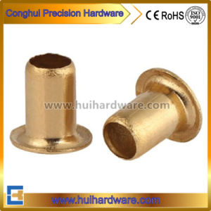 Brass/Copper Hollow Tubular Rivets M0.9 1.3 1.5 1.7 2.0 pictures & photos