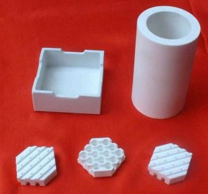 Cordierite Ceramic Ferrule for Stud Welding Ceramic Base, Ceramic Part pictures & photos