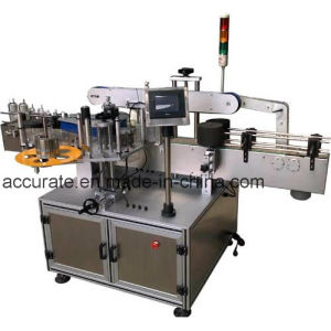Flat Bottle Sticker Labeling Machine pictures & photos