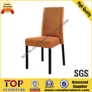 Wood-Looking Metal Hotel Restaurant Chair pictures & photos