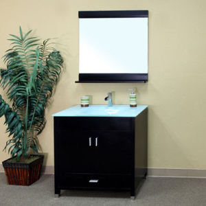 Modern Solid Bathroom Vanity with Fashion Style pictures & photos