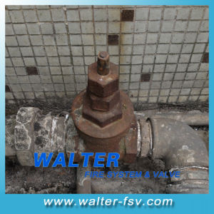 NPT Threaded Cast Iron Gate Valve pictures & photos