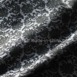 Warp Spandex Jacquard Tussores Fabric pictures & photos