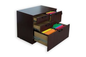 Modern High Quality MFC Board Office Furniture Combo Lateral File Cabinet pictures & photos