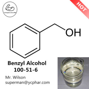 Inject Solvent Liquid Benzyl Alcohol Oily Liquid 100-51-6 pictures & photos