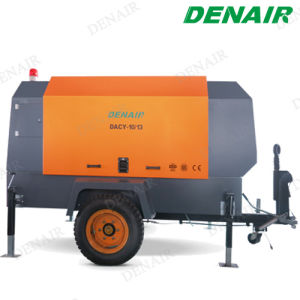 8 Bar Water Cooled Portable Diesel Air Compressor pictures & photos