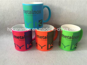 Sublimation Neon Color Mug, 11oz Neon Color Mug with Sublimation Coating pictures & photos