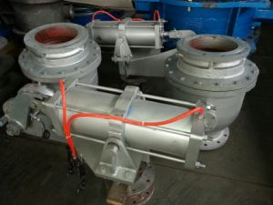 Pneumatic Ash Unloading Ball Valve pictures & photos