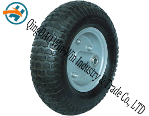 Wear-Resistant Rubber Wheel with Rubber Wheel Part (13*5.00-6) pictures & photos