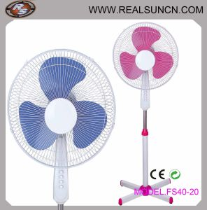 16inch Electrical Fan with 3 Plastic Blade Stand Fan-Fs40-21 pictures & photos