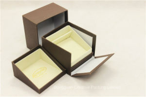Italy Delicate Design Art Paper Wedding Ring Box pictures & photos