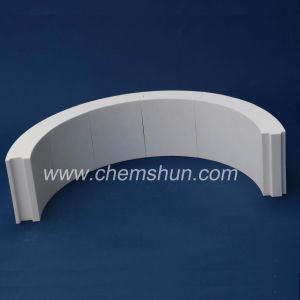 Wear Resistant Alumina Ceramic Liner for Pipeline (92% 95% Al2O3) pictures & photos
