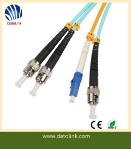 3m ST-LC Duplex Sm Patch Cable pictures & photos