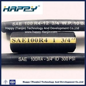 """Dn 3/4"""" Wire Inserted Hydraulic Hose SAE100 R4 pictures & photos"""