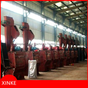 Tumblast Belt Type Shot Blasting Machine for Bolts and Nuts Cleaning pictures & photos