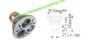 LED Bulb Light 3*1W E27 Spot Light pictures & photos