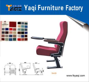 Aluminum Alloy Price Auditorium Chair Ya-03 pictures & photos