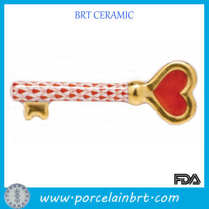 Porcelain Key to My Heart Valentine Gift pictures & photos