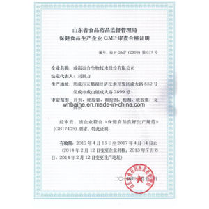 GMP Certified Nutritional Supplement Ginkgo Biloba Extract pictures & photos