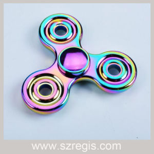 Colorful Hand Spinner Three Leaf Fingers Gyro Decompression Toys pictures & photos