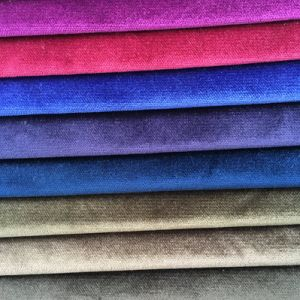 Polyester Knitting Velvet with Cut Pile Looking pictures & photos