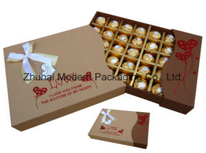 OEM Recycle Paper Gift Chocolate Packaging Box pictures & photos