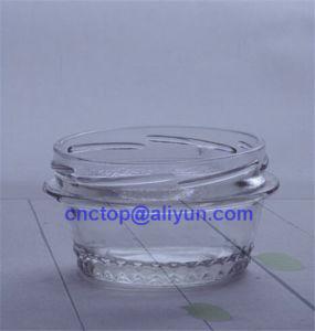 80ml Shaped Food Jar Glass Bottle Custom Shape pictures & photos