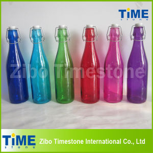 500ml Glass Bottle with Clip Lid pictures & photos