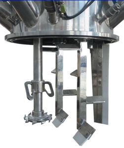 PU Foam Excellent Dlh-600 Gantry Type Double Disperser Planetary Mixer pictures & photos