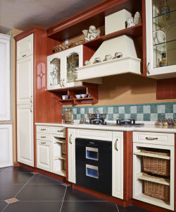 Classical PVC Kitchen Cabinet Furniture (zc-040) pictures & photos