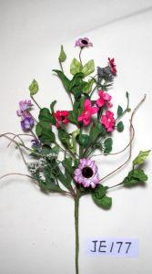 Je177 Spring Colorful Handmade Foam Flower Spray Artificial Flowers