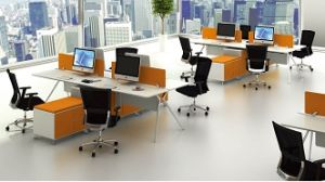 Modern Style Premium Staff Partition Workstations Office Desk (PS-LNPS-01) pictures & photos
