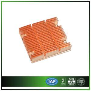 Customize Copper CPU Heatsink for 1 U Server pictures & photos