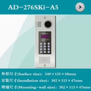 Video Door Phone Shell with Digital Button (AD-276SKi-A5)