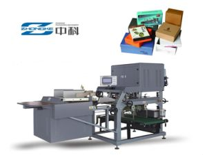 Paper Carton and Corrguated Box Making Machine pictures & photos