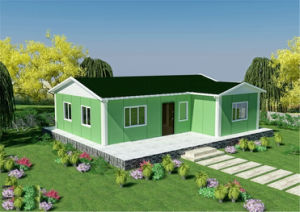 Eco-Friendly Cheap Prefab Portable House for Iran