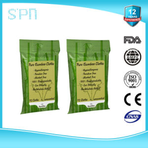 Organic Pure Bamboo Skin Care Baby Wet Towel pictures & photos