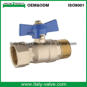 """1/2"""" Brass Ball Valve with Corrugate Handle (IC-1060) pictures & photos"""